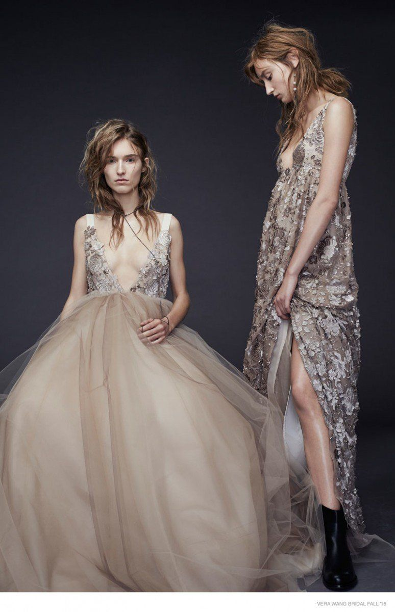 Vera Wang's New Fall 2015 Wedding Dresses photo