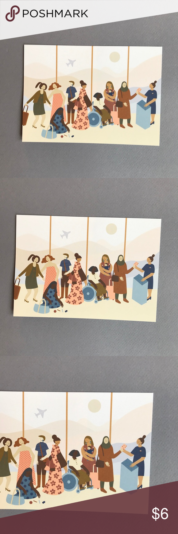 Framable Art/ Post Card Minerva Gonzales Martinez Framable Art Card/ Post Card Minerva Gonzales Martinez 5 x 7 inches Exclusively for Causebox Printed in Los Angeles, CA From Fall 2019 Causebox Value $10