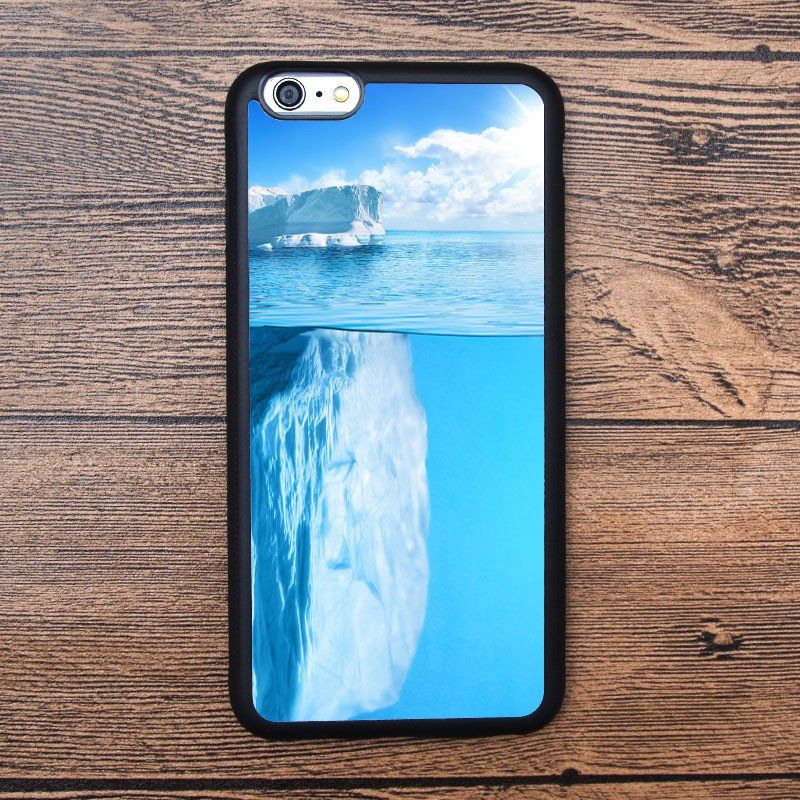 Glacier, huge ice cubes Case For IPhone