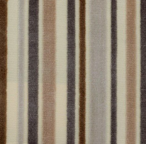 Custom Pillow- *Designer-Favorites, Drapes, Curtains, Decorative Pillows, Valances, Made-to-Order, 'Soft Stripe' Driftwood, Caribbean, Melon by PriscillasDraperyDsg on Etsy