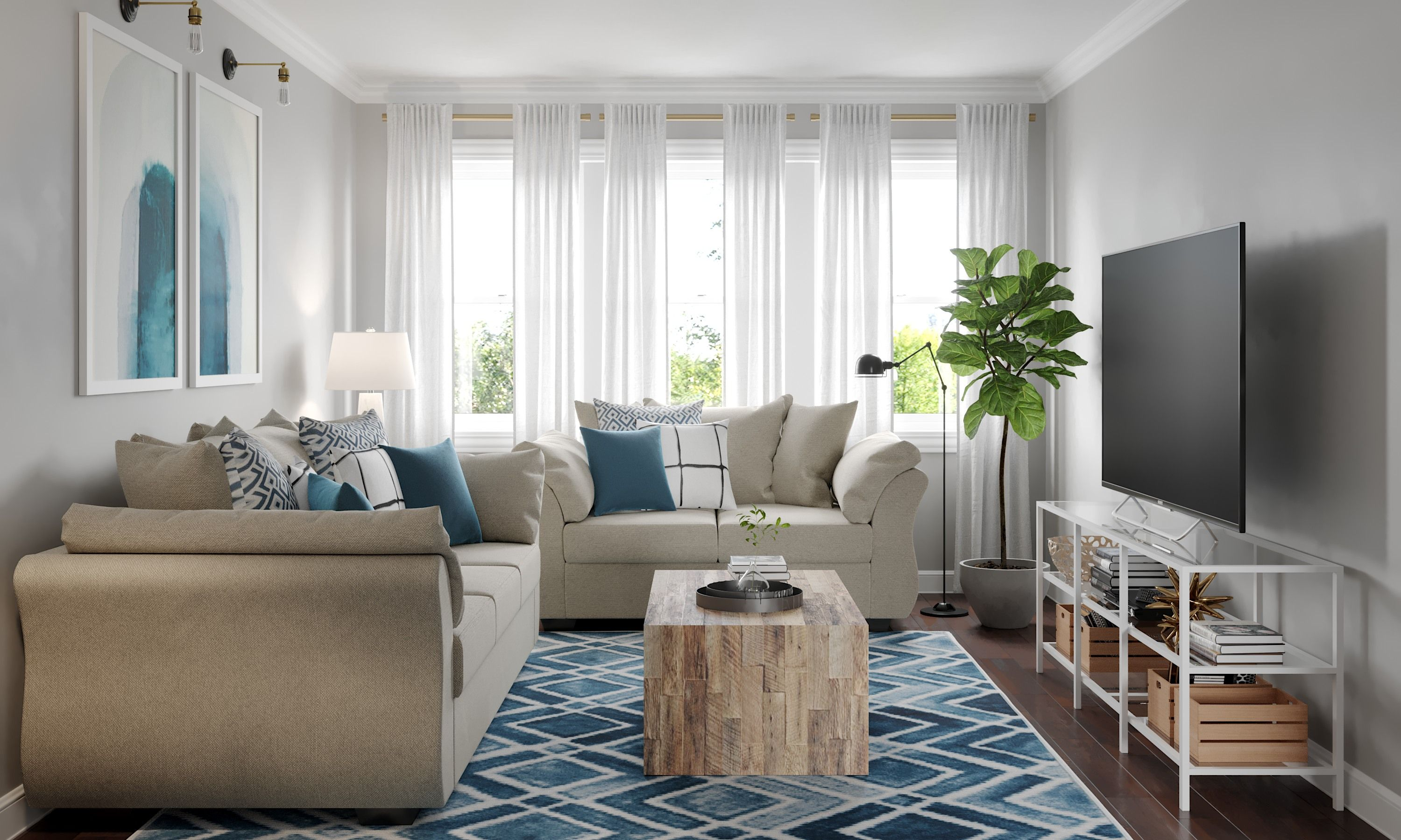 online interior design and home inspiration havenly on living room color inspiration id=45120