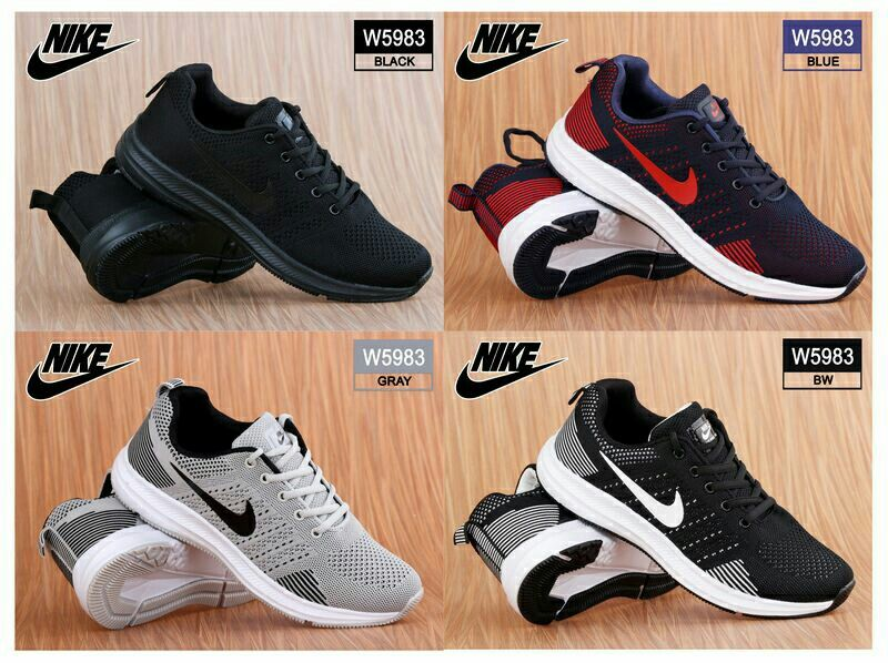 Sport Shoes Nike Zoom W5983 Sepatu Pria Bahan Fabric Mesh