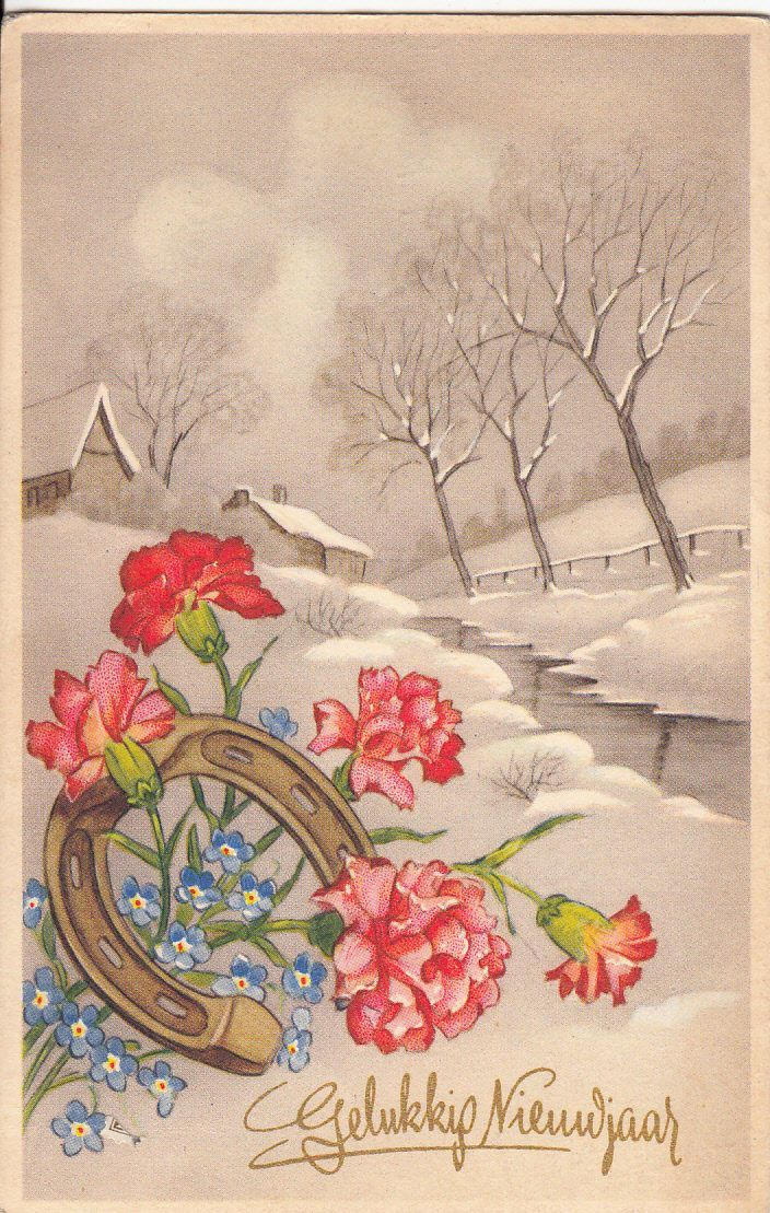 pin by helene on christmas vintage pinterest new year greeting cards new year postcard and happy new year greetings
