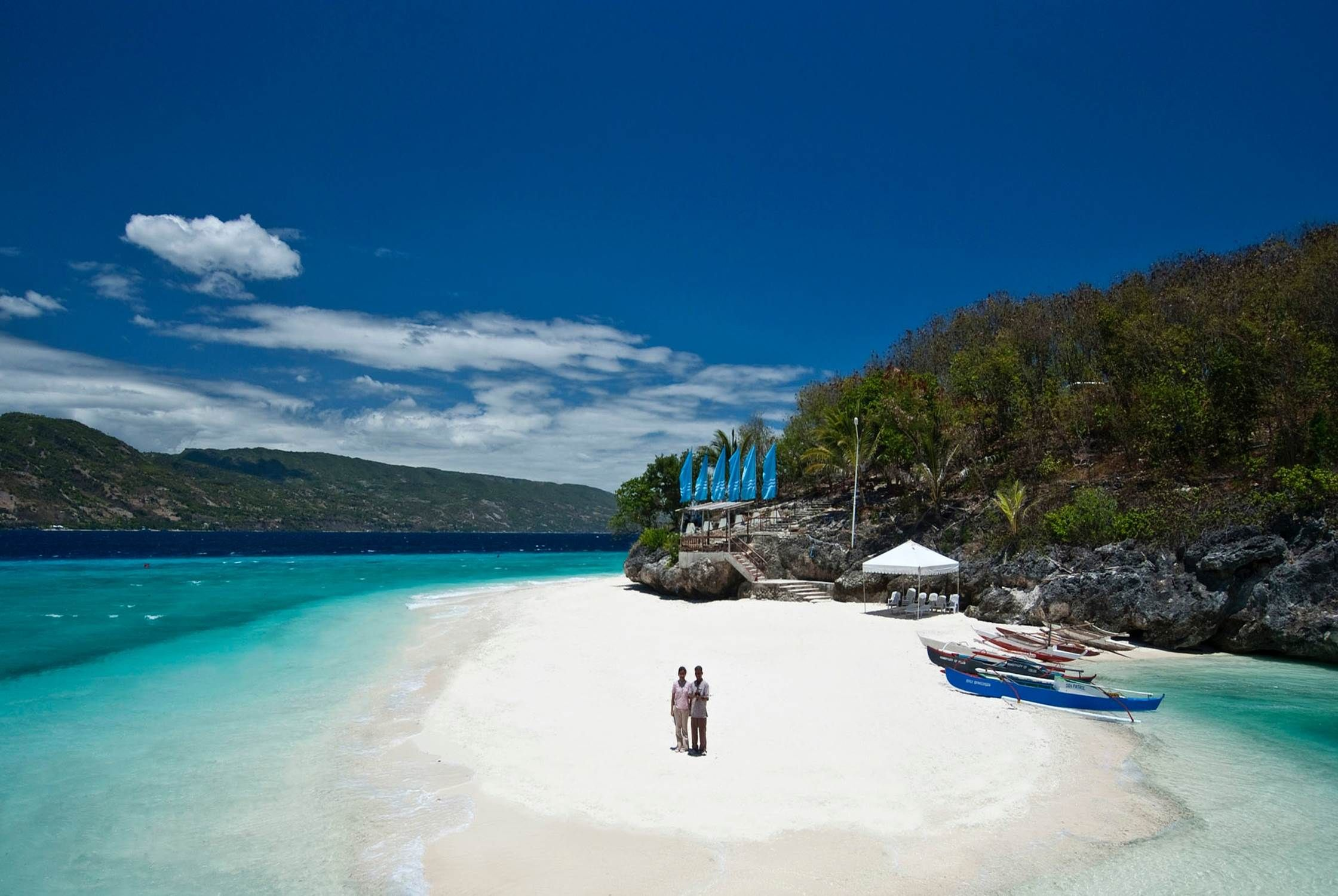 Cebu Island is truly blessed with magnificent beaches and