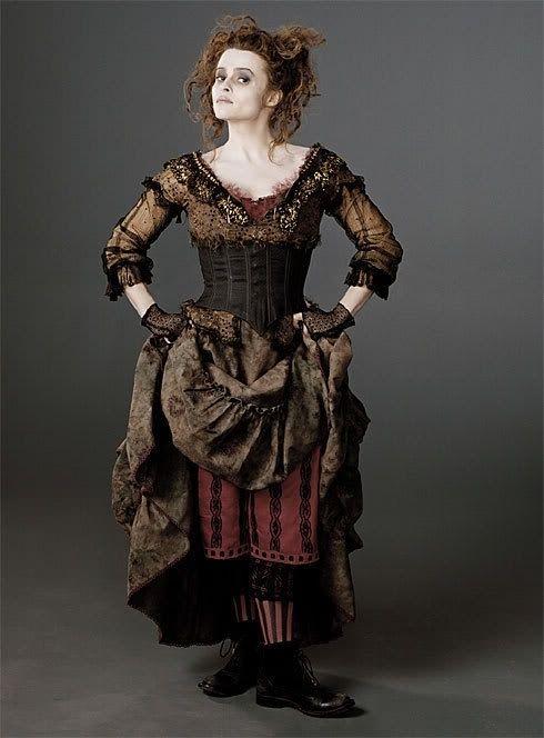 Mrs Lovett Sweeney Todd Costume Colleen Atwood Costume Design