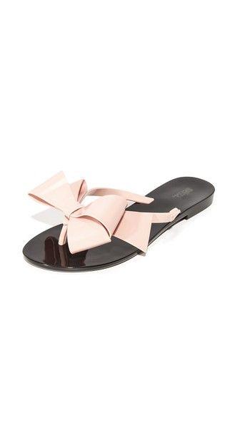 6ff5db330 Melissa Harmonic Bow III Thong Sandals