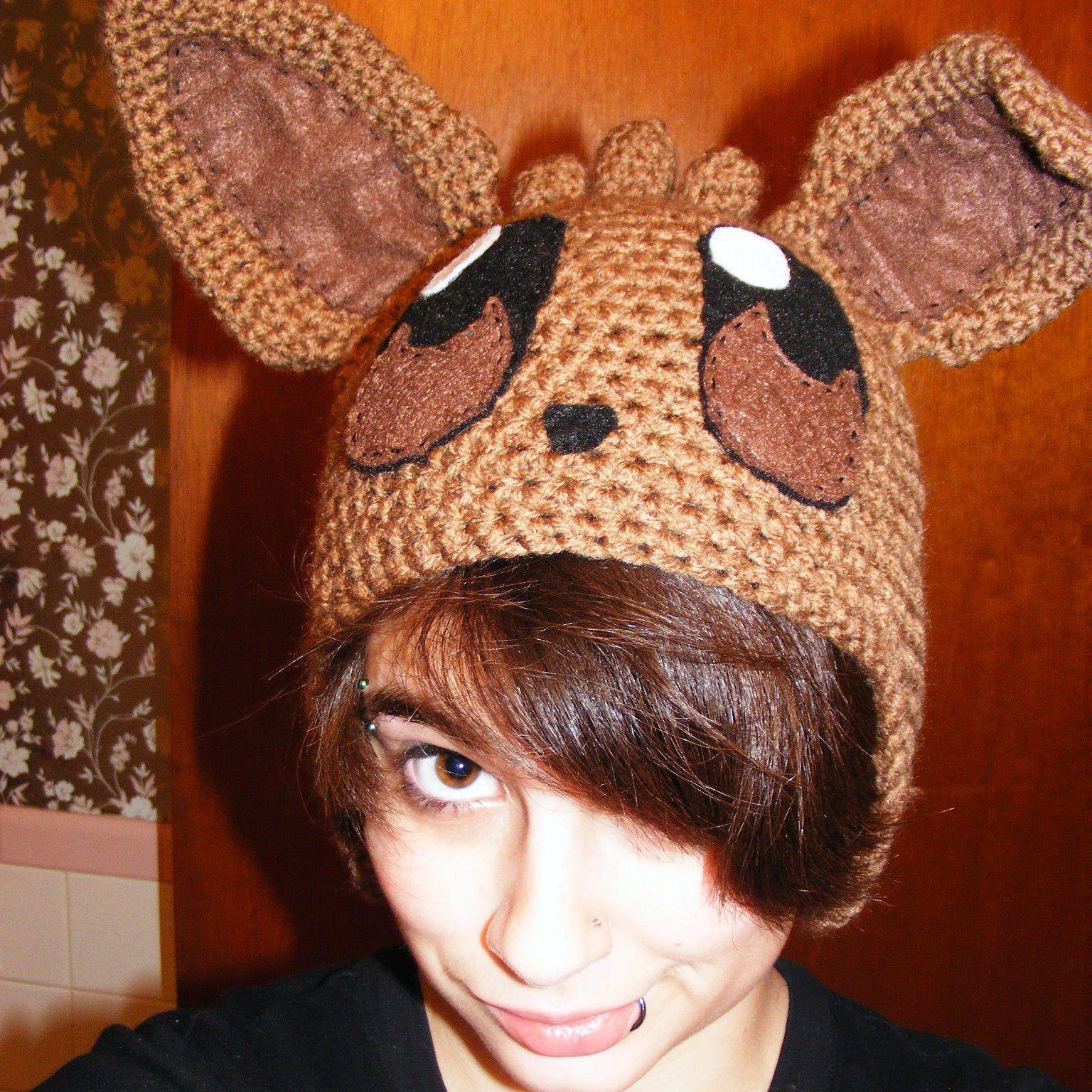 Eevee Hat! https://www.facebook.com/animecrochet/   Anime Crochet ...