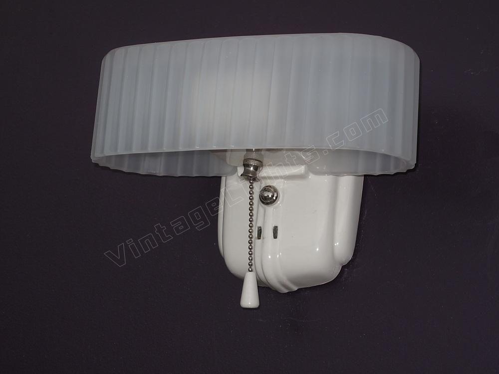 Vintage Light Fixtures Antique White Porcelain Vintage Bath