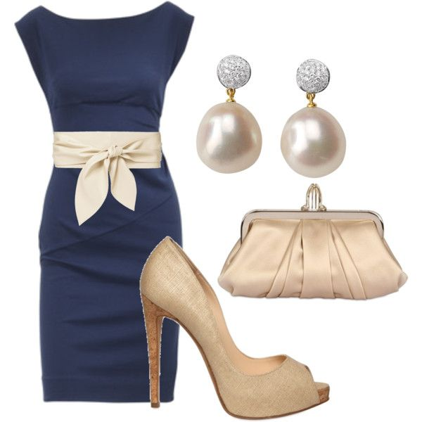 what shoes to wear with navy dress 50+ best outfits - color dresses
