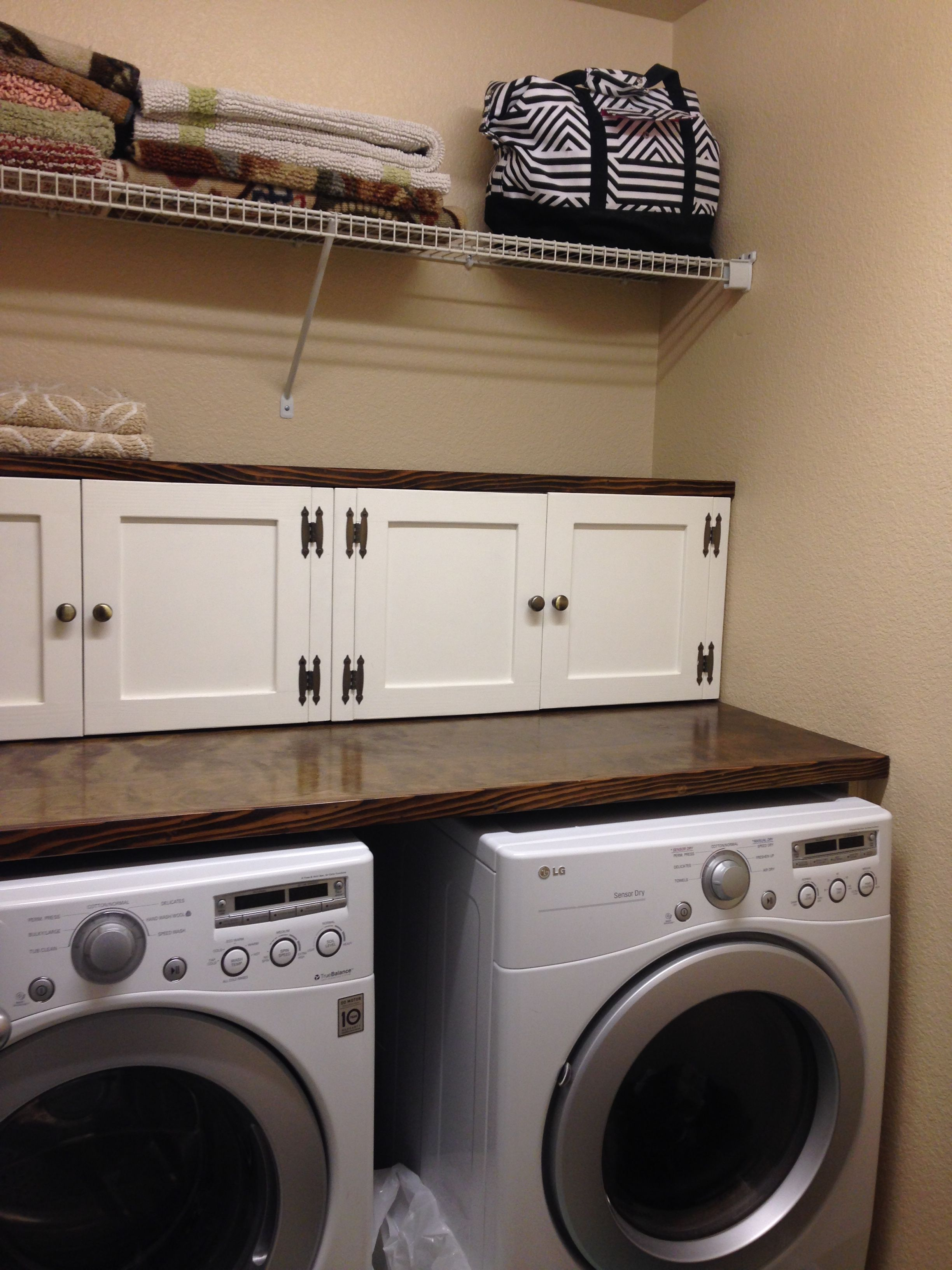 Small Laundry Redo Garage Laundry Rooms Laundry Room Small