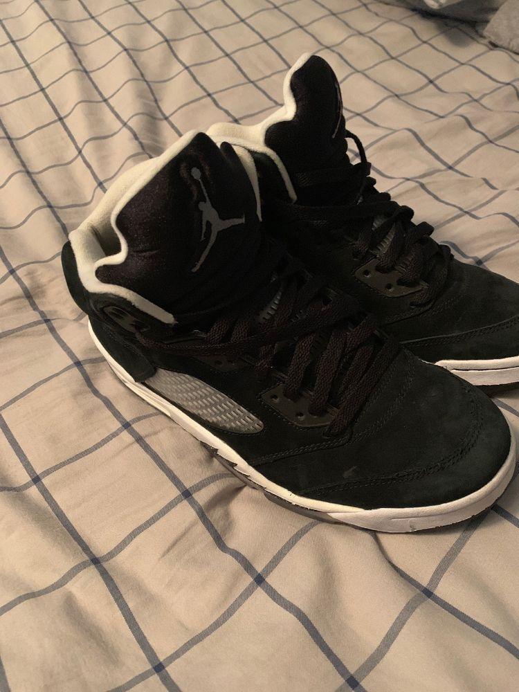 size 40 05f14 6b068 Nike Air Jordan 5 Oreo Size 9  fashion  clothing  shoes  accessories