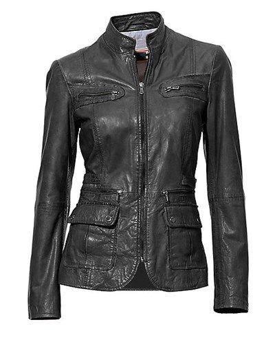 B.C. BEST CONNECTIONS: Lederjacke | Distressed leather