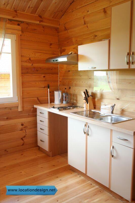 ديكورات مطابخ بسيطة وانيقة ديكورات مطابخ Knotty Pine Kitchen