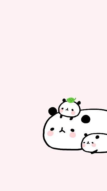Kawaii Cute Cartoon Wallpapers Cute Panda Wallpaper Cute Cartoon Animals