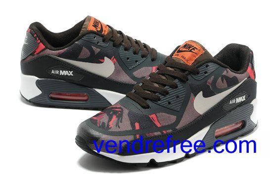 code promo 47715 a9598 Vendre Pas Cher Femme Chaussures Nike Air Max 90 (couleur ...