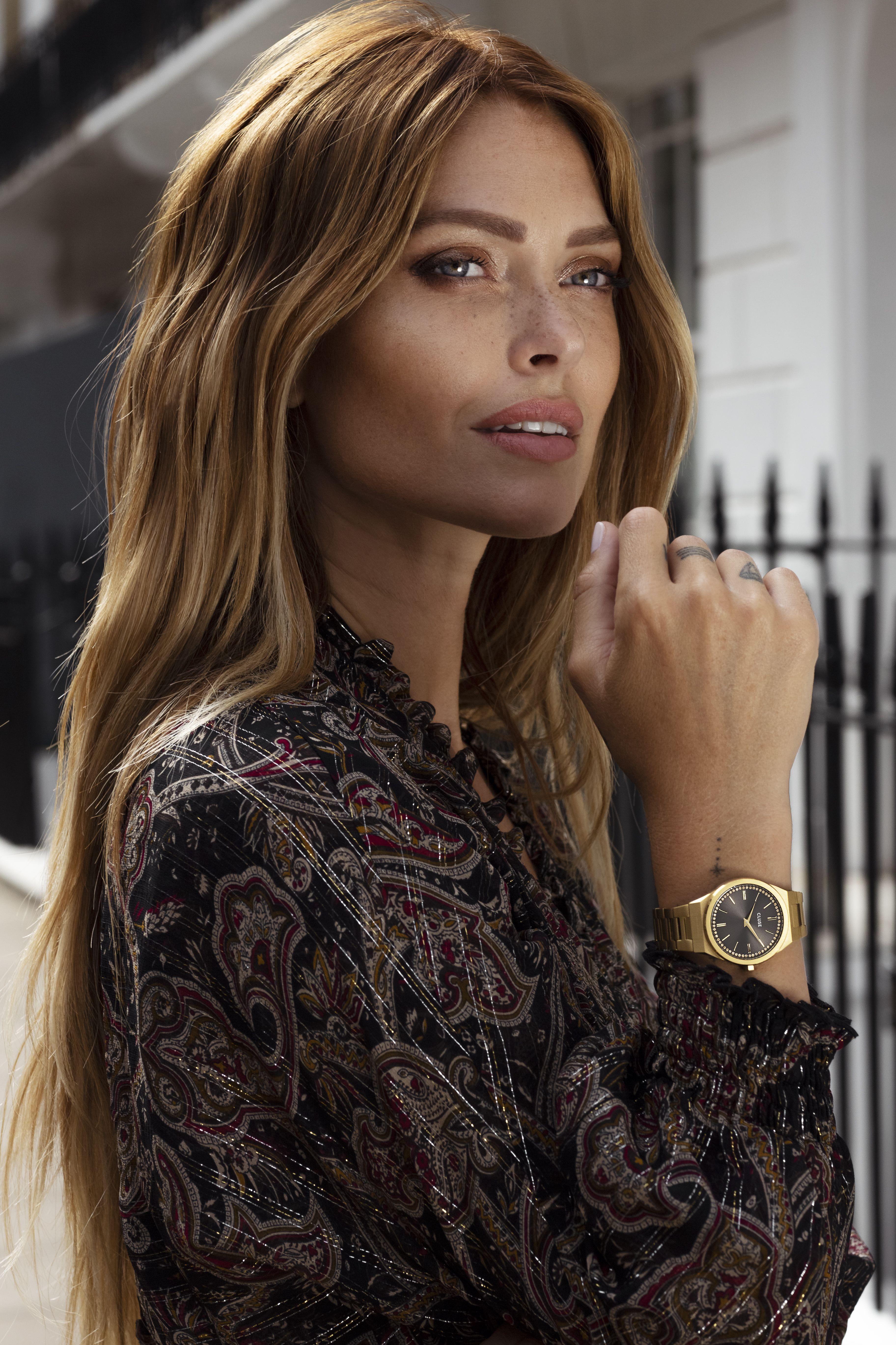 Montre Cluse Caroline Receveur : montre, cluse, caroline, receveur, Épinglé, CLUSE, Photoshoots, Campaigns