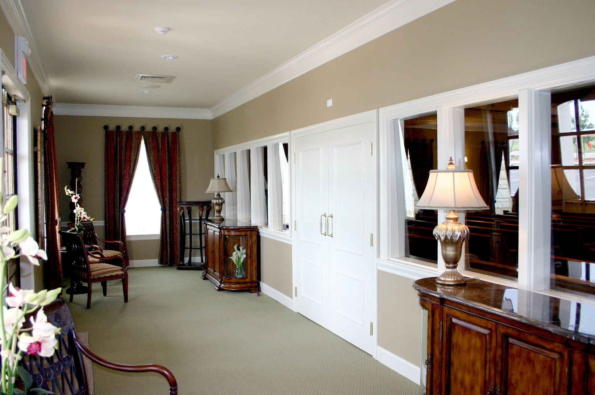 Funeral Home Interior Colors | ... For One Space Coffee Lounge Interior  Design Provided