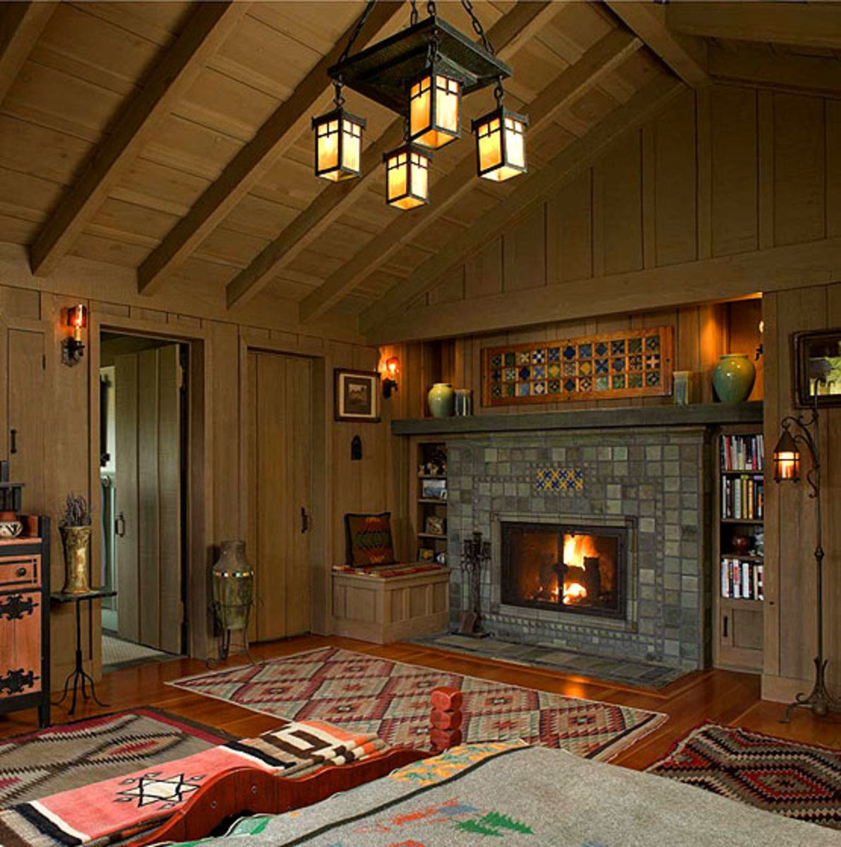 Lighting To Accent & Define Arts & Crafts Interiors (With