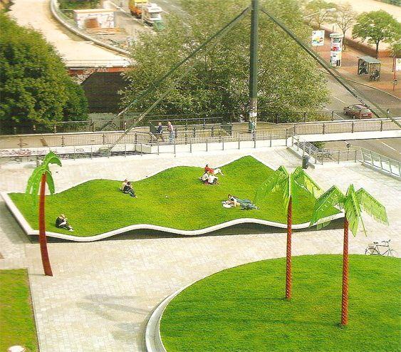 Wavy Lawn Newhomesaz Landscape Architecture Urban Landscape Design Landscape