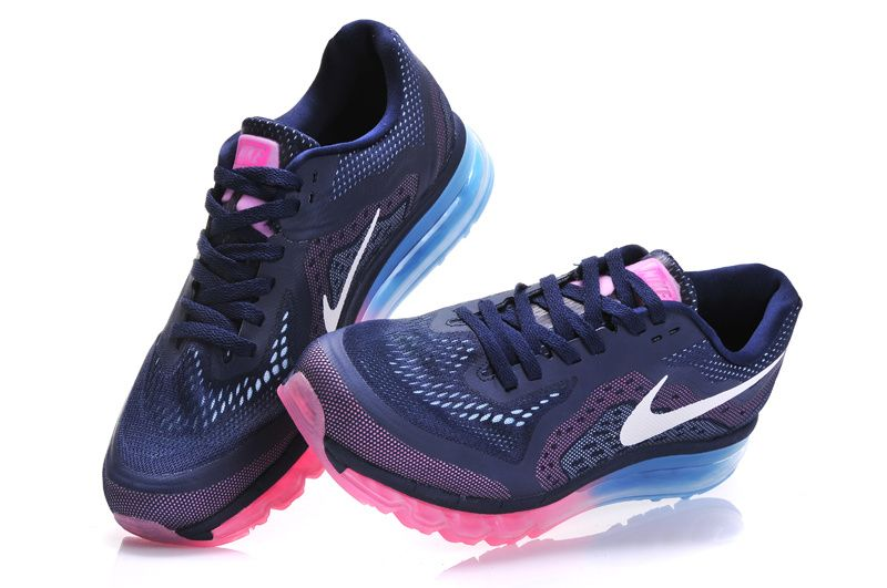womens nike air max 2014 running shoes pink