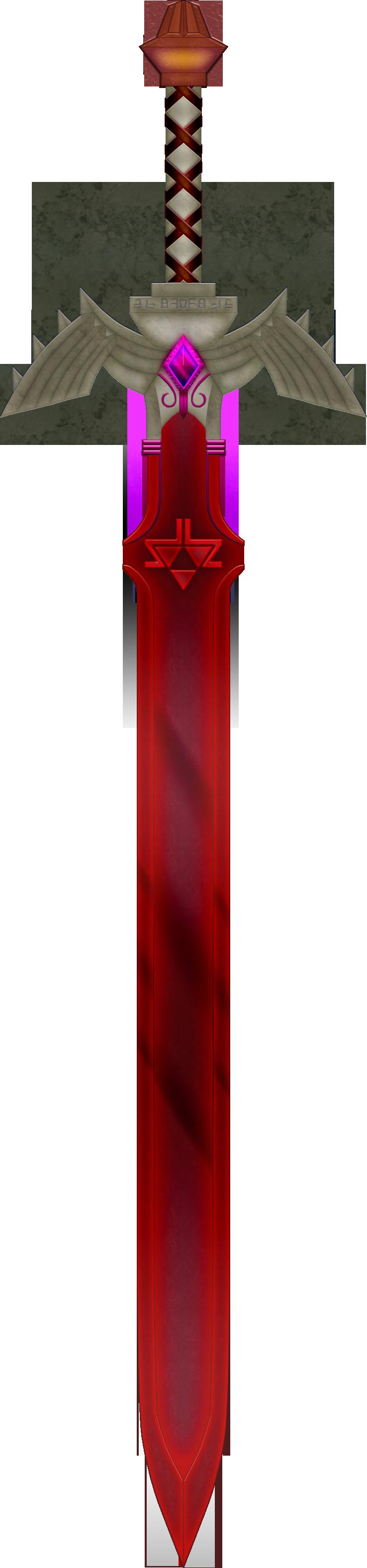 Dark Master Sword By Blueamnesiac On Deviantart Master Sword Legend Of Zelda Sword