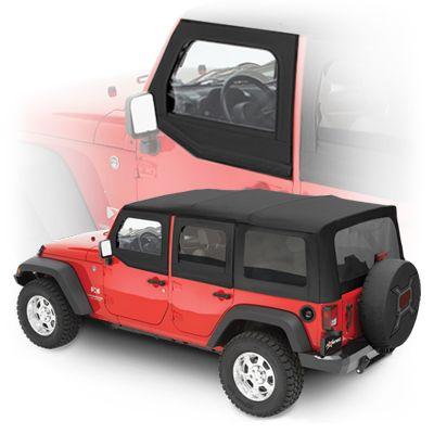 Mopar Left Side Upper Half Door Window In Black Diamond For 07 16 Wrangler Jk Jk Unlimited Jeep Wrangler Parts Jeep Jeep Wrangler