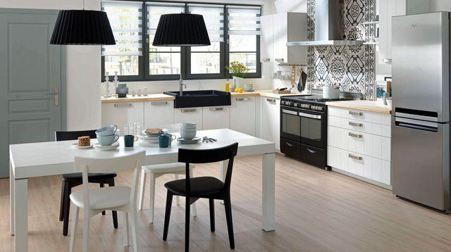 amnagemer une cuisine ouverte en longueur pas cher petite - Amenager Une Petite Cuisine En Longueur