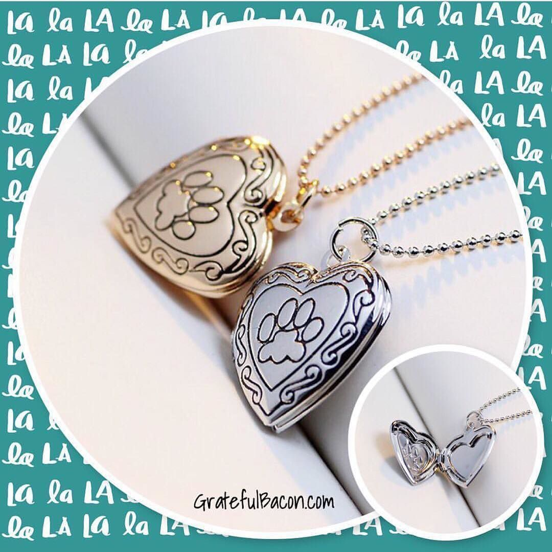 pawprintwings fire with memorial lockets necklace wings locket paw steals memoriallocket crow print pet