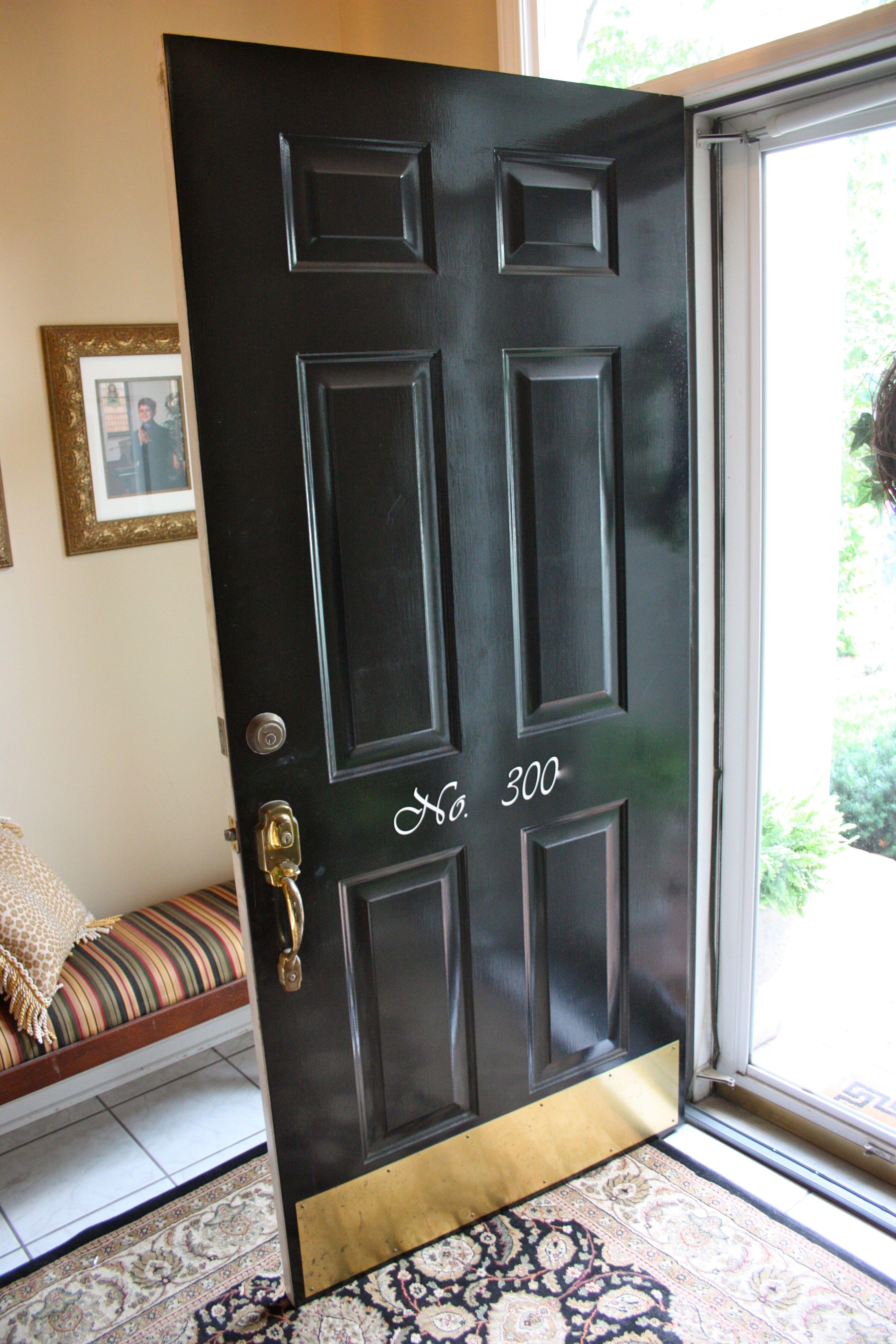 Front Door Kick Plate Black Httpthewrightstuff Pinterest