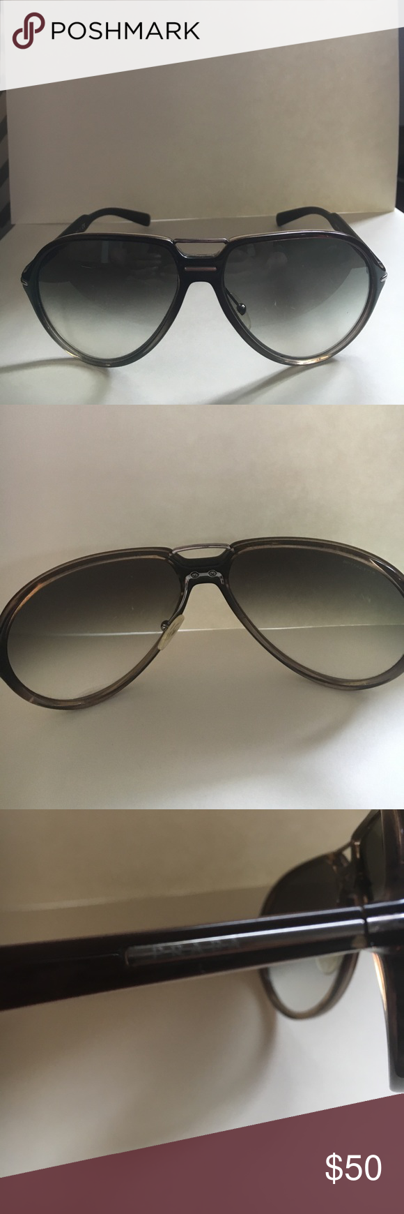 564c3281dd8 ... authentic prada sunglasses used condition is worn out. some scratches  on the lenses the a04df