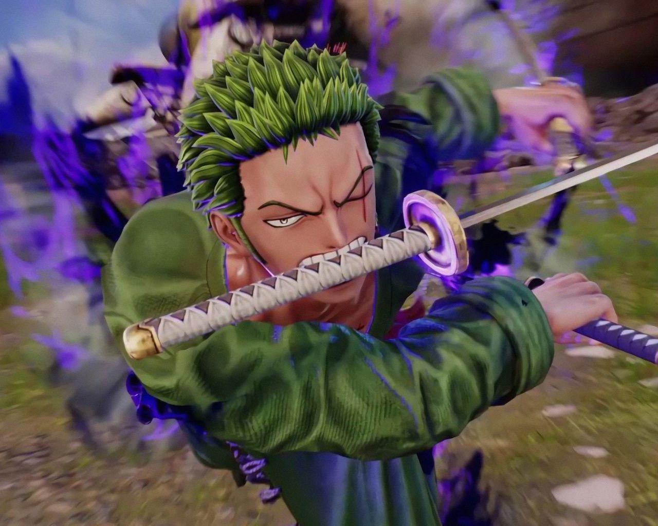 Download 1280x1024 Wallpaper Jump Force Roronoa Zoro Video Game One Piece Anime Standard 5 4 Fullscreen 1280x1024 Hd Image Roronoa Zoro Zoro Anime Smile