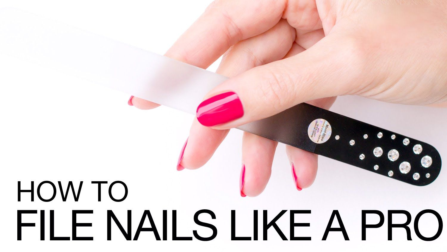 Informative tips! How To File Nails For the Perfect Oval