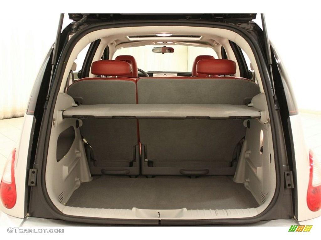 2010 Chrysler PT Cruiser Couture Edition - Two Tone Silver/Black Color /  Radar Red Interior