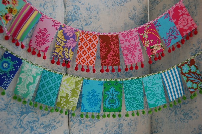 cute banners - Jennifer Paganelli fabrics CRAFT~ Inspiration - pennant banner template