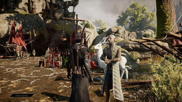 Keeper Hawen At The Dalish Camp The Knights Tomb Side Quests Emerald Graves Dragon Age Inquisition Game Guide Walkthrou Dragon Age Game Guide Knight