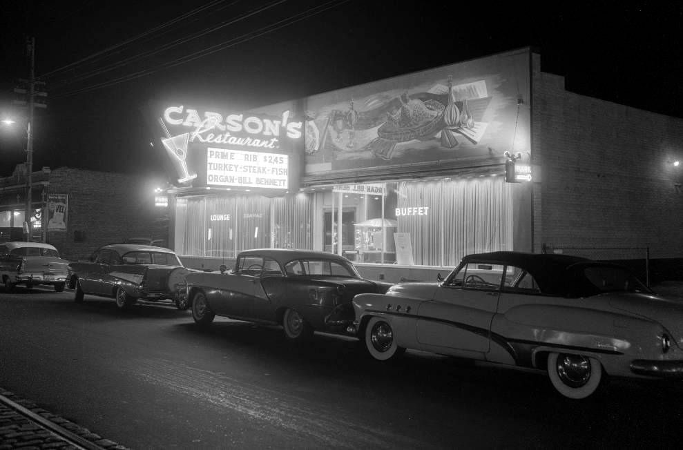 Carsons restaurant late 1950s chicago photos vintage