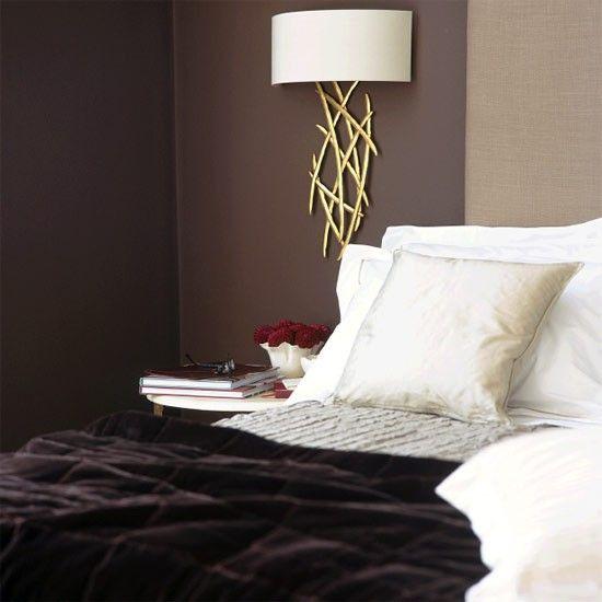 Reiche braune Schlafzimmer Wohnideen Living Ideas Schlafzimmer - moderne schlafzimmer braun