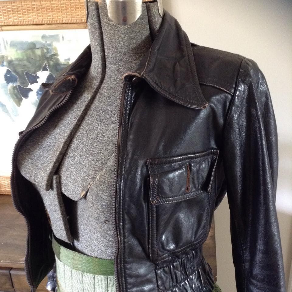 Aoife Fraser Photos From Aoife Fraser S Post In Ooh La Leather Jacket Women Wear Fashion