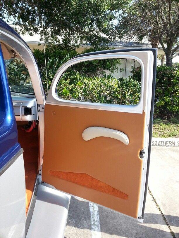 Custom Door Panels For A 40 Ford Custom Rods Panel Doors Custom Door