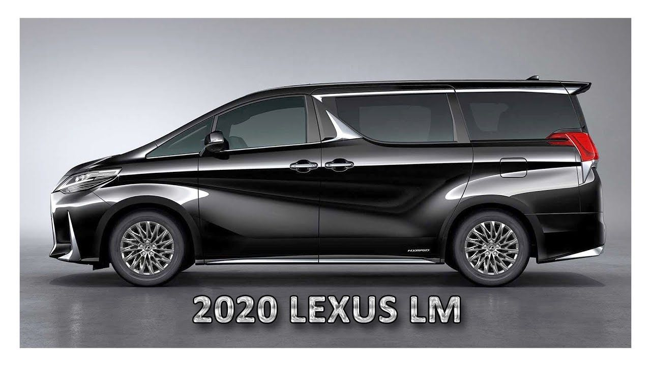 2020 Lexus Lm Lexus Mini Van Luxury Van