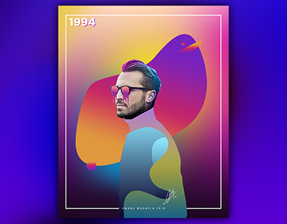 """Check out new work on my Behance portfolio """"Gradient"""