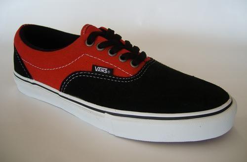Vans Era Red And Black  c57aa911b9d3