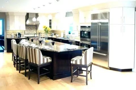 brilliant  shaped kitchen designs  review on trends also rh pinterest