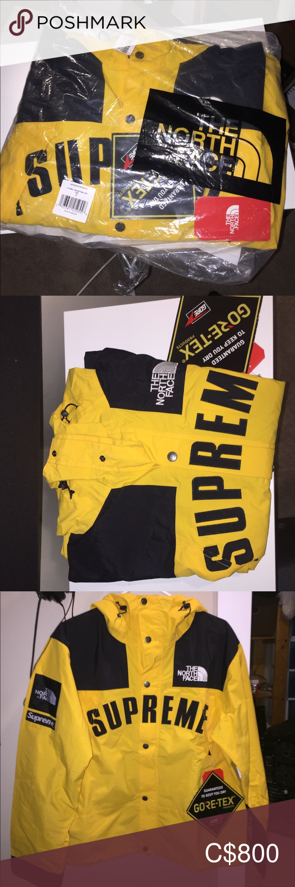 Supreme X The North Face Arc Logo Mountain Parka The North Face Parka Mens Jackets [ 1740 x 580 Pixel ]
