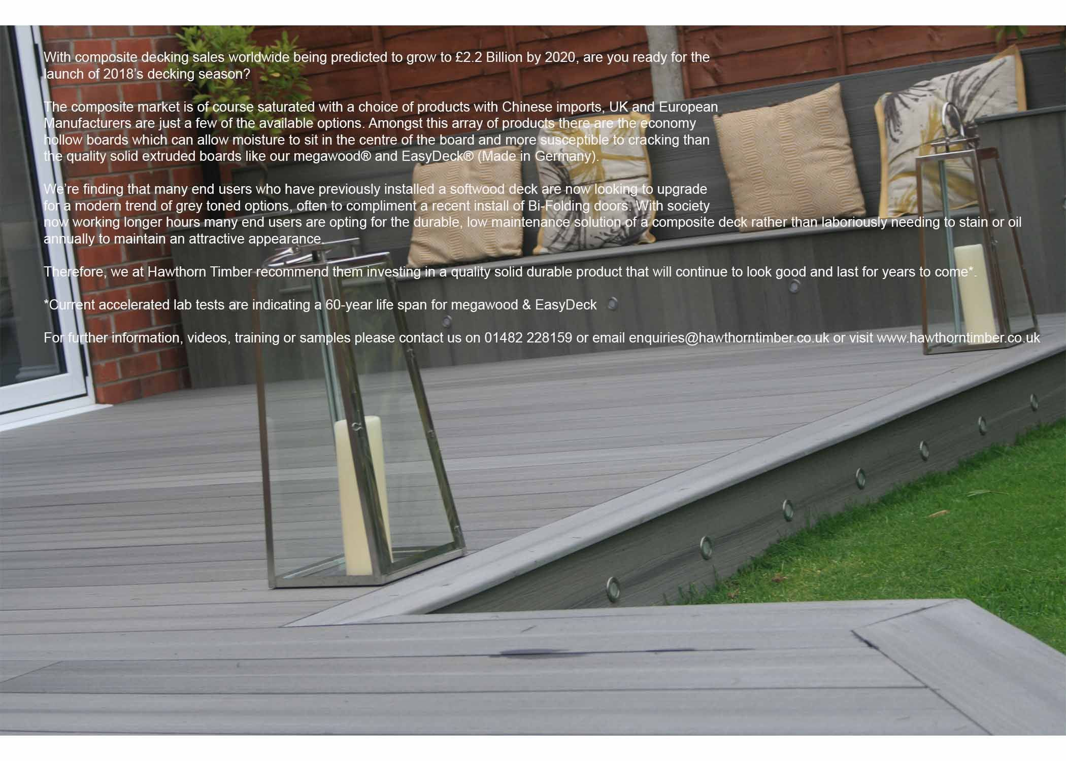 Best Composite Decking 2020.Are You Ready For The 2018 Decking Season Megawood