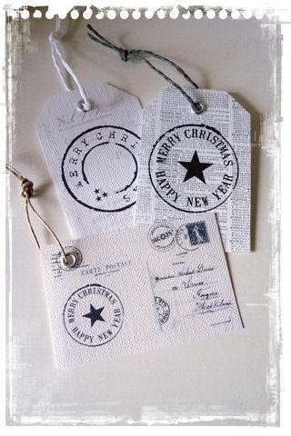 Christmas Labels  Erg leuk om ergens aan te hangen…of in de kerstboom!