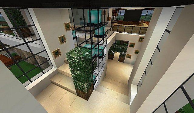 Modern House With Style Minecraft Build 8 Minecraft