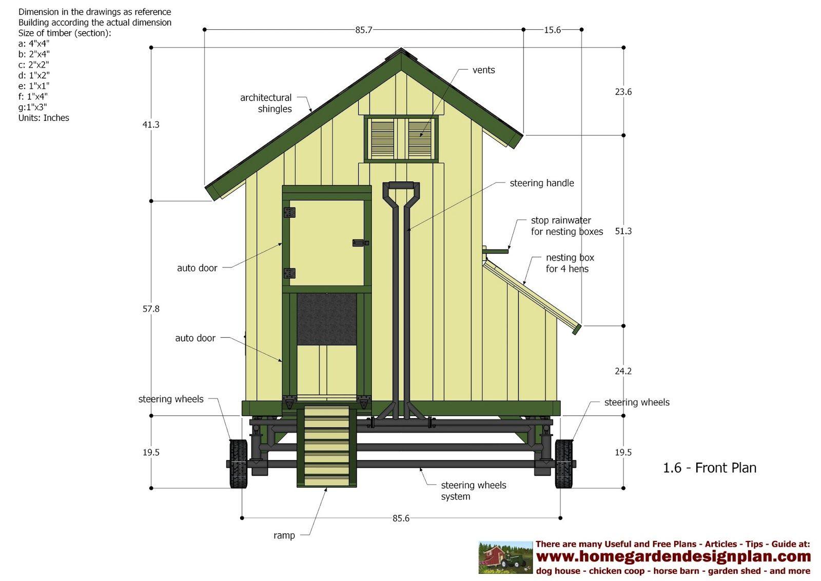 Floor Plans For Tractor Trailer Chicken Co Op Plans Free Download Coop Plans Chicken Coop Plans Mobile Chicken Coop