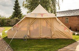 5m x 4m Touareg / Roman Fireproof 360gsm Canvas Tent by Bell Tent Boutique | eBay & 5m x 4m Touareg / Roman Fireproof 360gsm Canvas Tent by Bell Tent ...