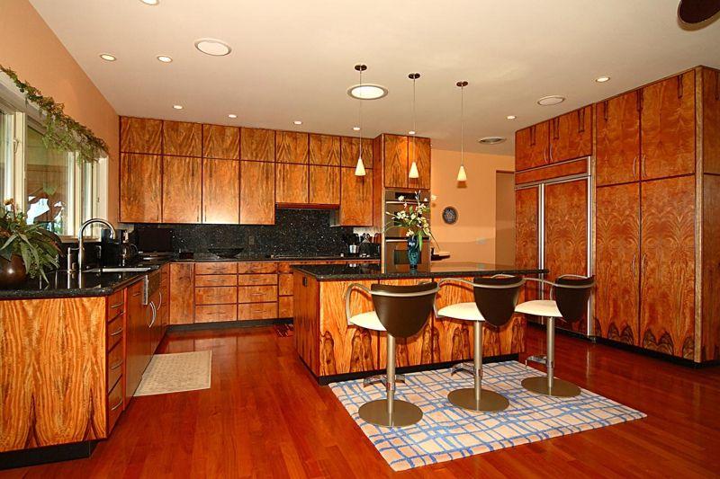Wonderful Kitchen With Mango Wood Cabinets